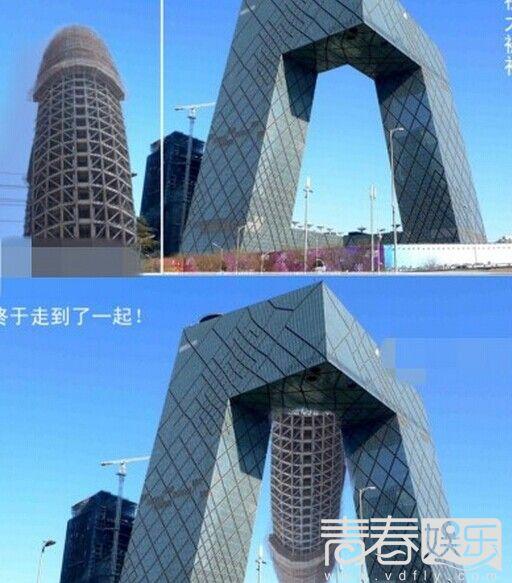 """高楼林立,各种奇葩建筑如雨后春笋冒出来.""""目前中国的建筑,价"""