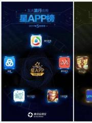 明星跨界移动互联网 星APP5月榜成小型娱乐圈